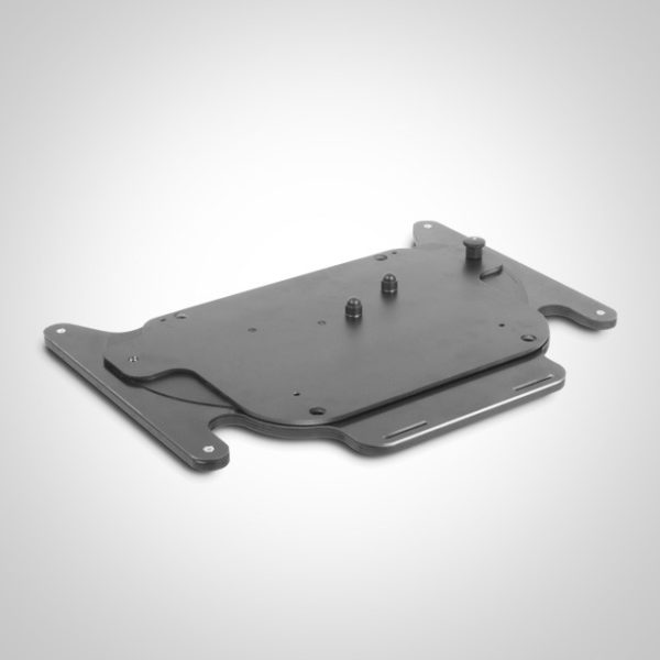 Caeseat, swing away plate