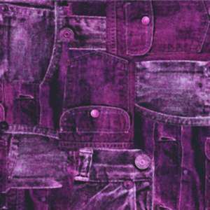 Jeans plommon