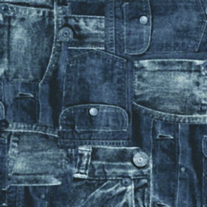 Jeans svart
