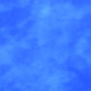 Plastfarve meleret blå