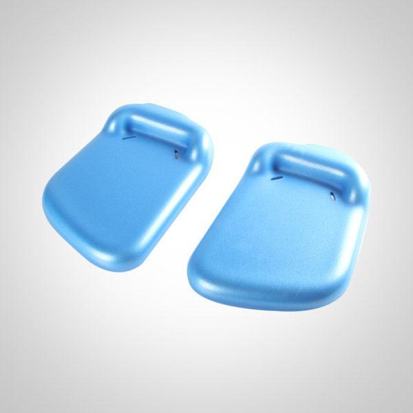 Starfish Pro, cushion divided footrest