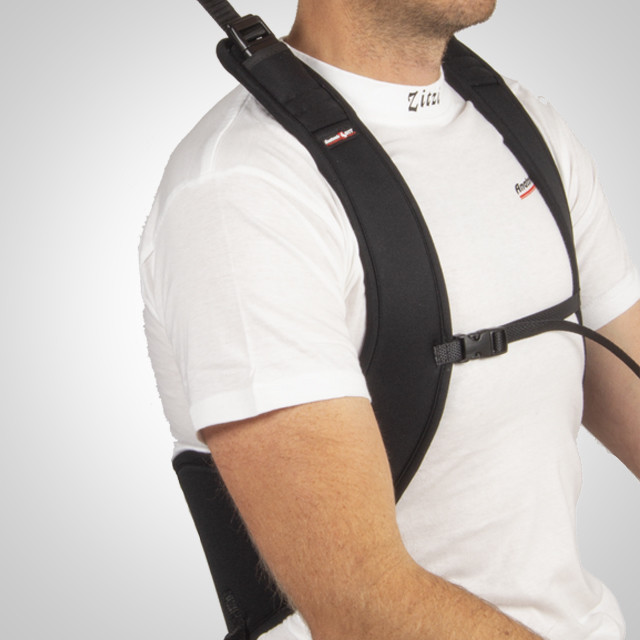 Thorax position harness belt